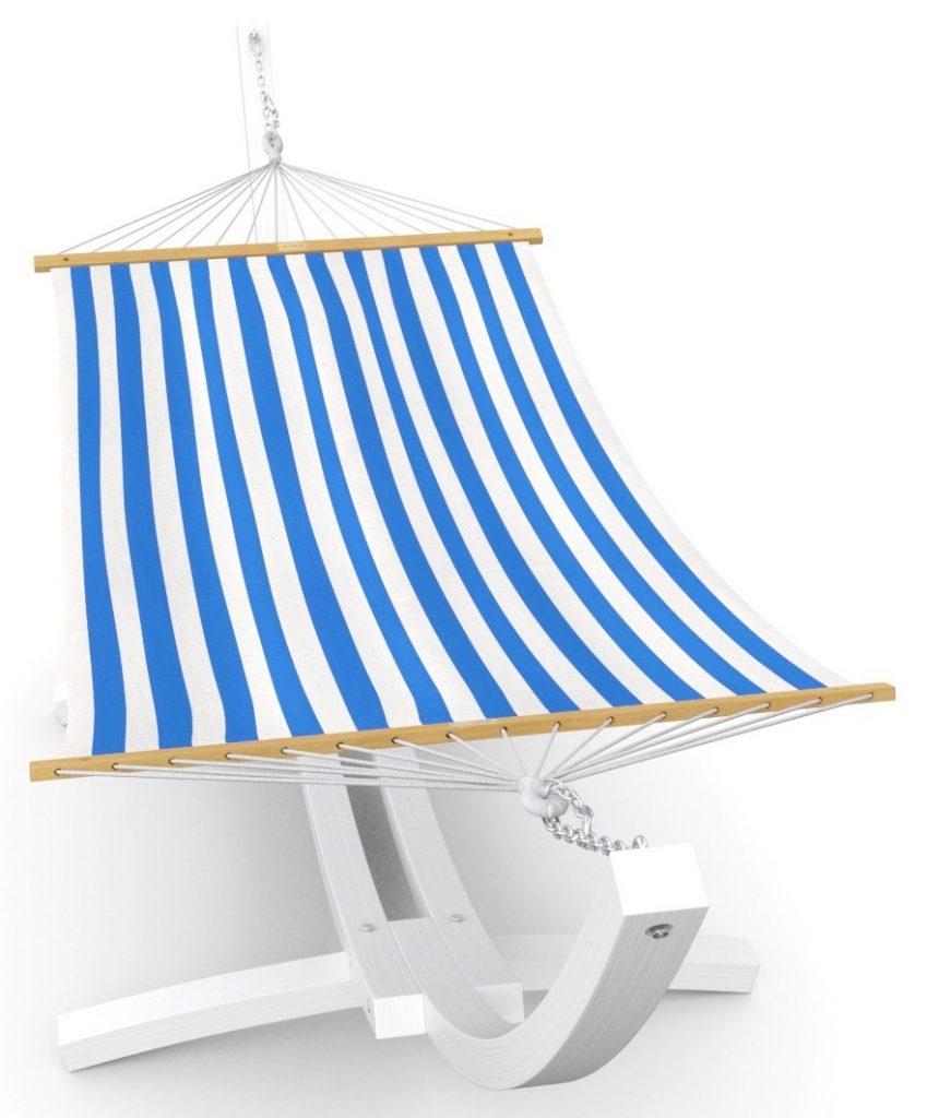 balkon maritim einrichten hängematte mit gestell maritime balkon möbel