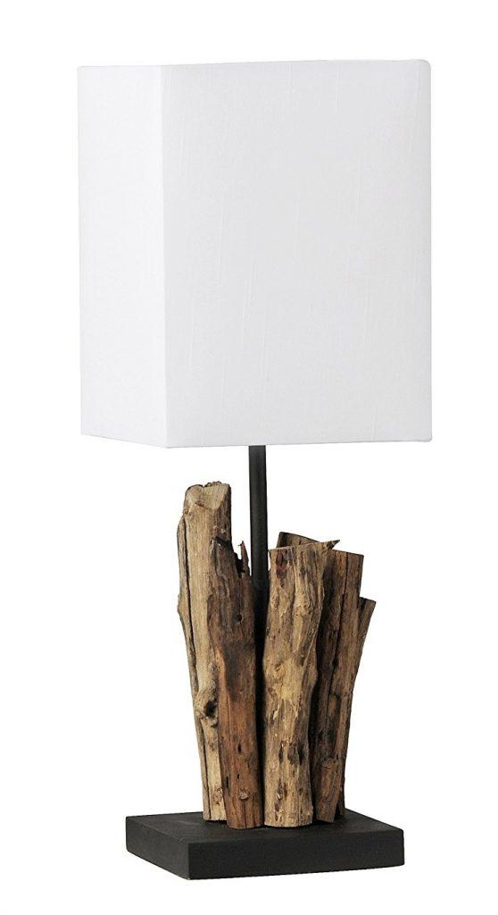 lampe aus treibholz schreibtischlampe treibholz maritim-einrichten.de