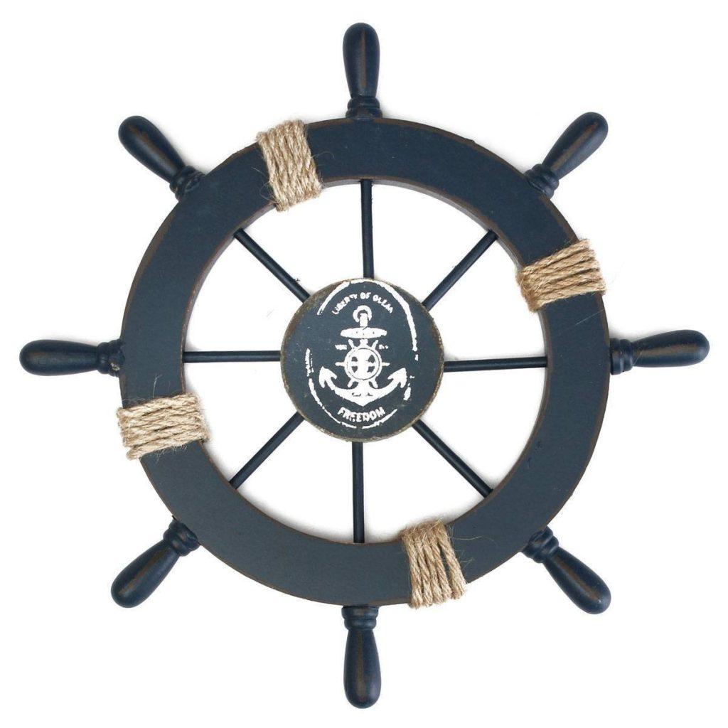 schlafzimmer maritim einrichten anker