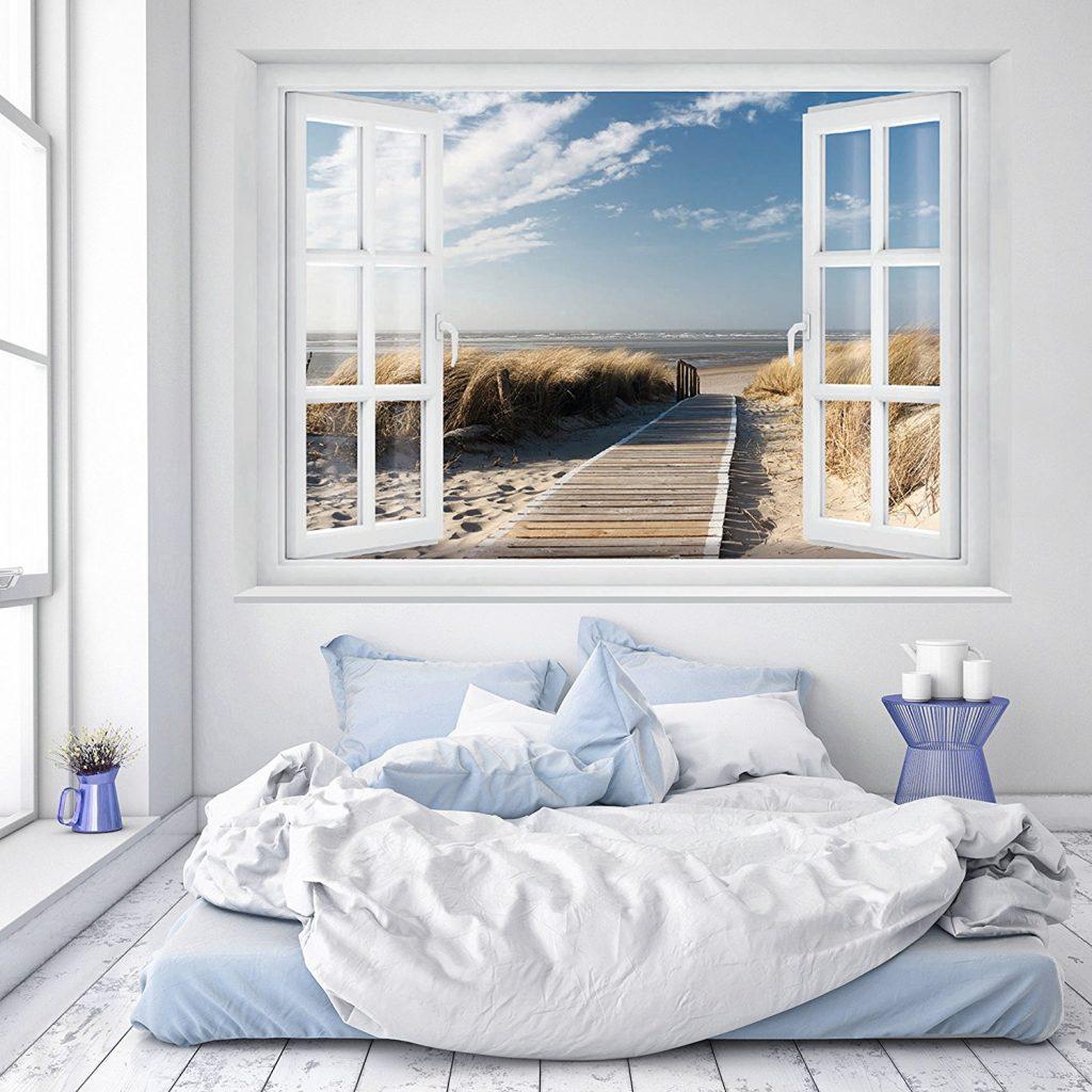So kannst du g nstig dein schlafzimmer maritim einrichten for Bilder schlafzimmer